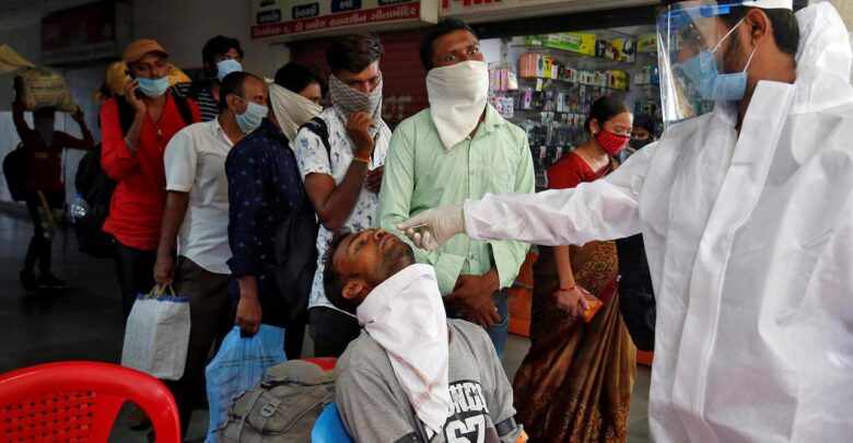 Photo of India's coronavirus cases rise to 5.2 million with 96,793 new infections