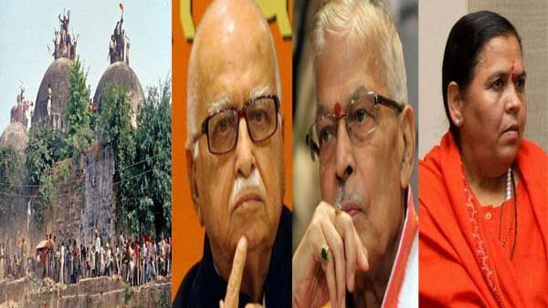 Photo of Babri Masjid Demolition Case: All 32 accused including Advani, Joshi and Kalyan Singh acquitted in Babri demolition