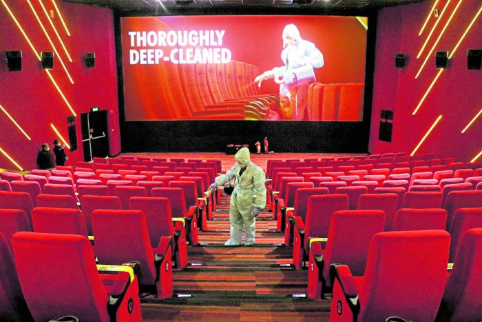 Photo of Cinema Halls Open Today In Many States; Seat Markers, Sterilised Popcorn