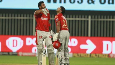 "Photo of IPL 2020: KL Rahul Hails ""Phenomenal"" Mohammed Shami After Historic Win Against Mumbai Indians"