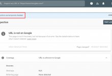 """Photo of """"Page Actions Are Temporarily Disabled"""" – How to Index?"""