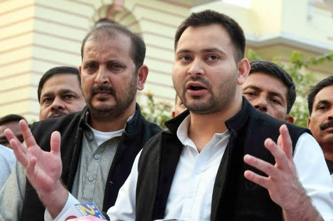 Tejashwi Yadav Replies to PM Modi's 'Yuvraj of Jungle Raj' Jibe
