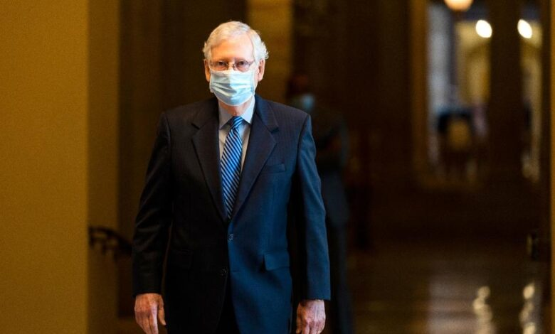 Photo of Pandemic Relief Talks Inch Ahead but McConnell Is Resistant