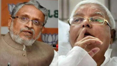 Photo of Sushil Modi Claims Jailed Lalu Prasad Trying To Poach NDA Mlas in Bihar, Shares Audio Clip