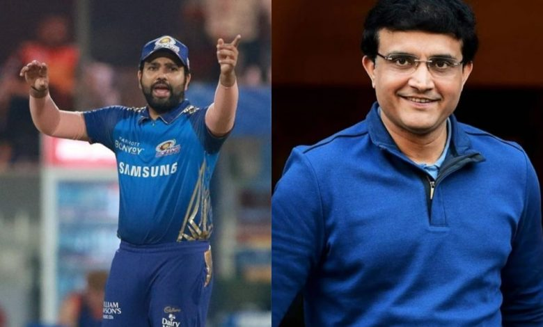 Photo of On day Sourav Ganguly cautions Rohit Sharma against rushing back, MI captain plays