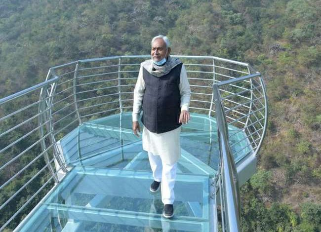 Bihar's swanky new glass bridge