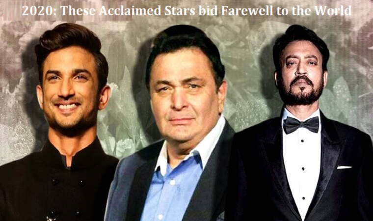 These acclaimed stars bid farewell to the world