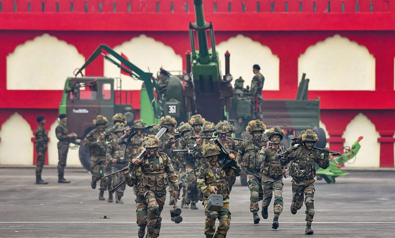 Army Day in India