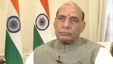 Rajnath Singh to visit West Bengal tomorrow