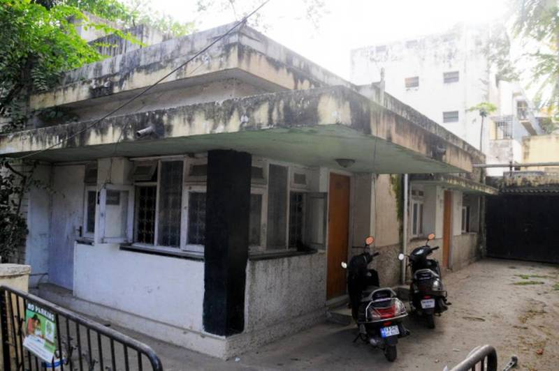 A view of the house of Iftekhar Ahmed, the maternal grandfather of Shahrukh Khan, in Bengaluru