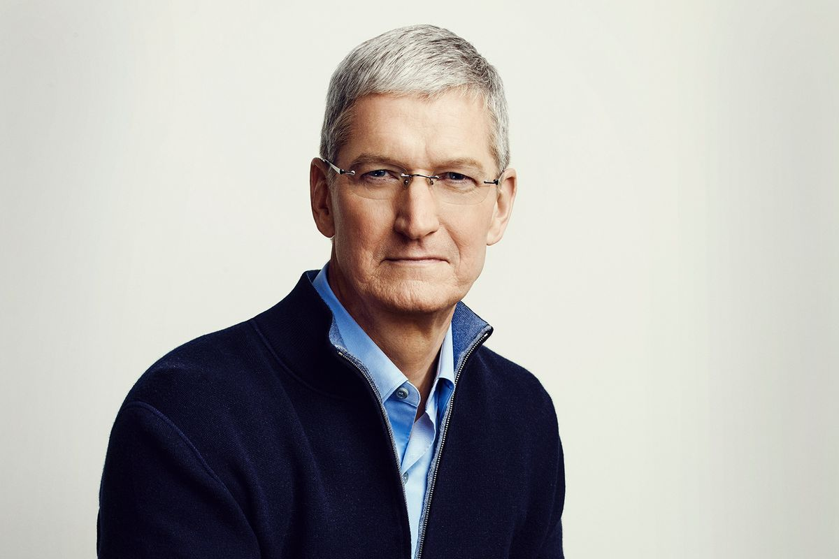 highest paid CEOs, Tim Cook