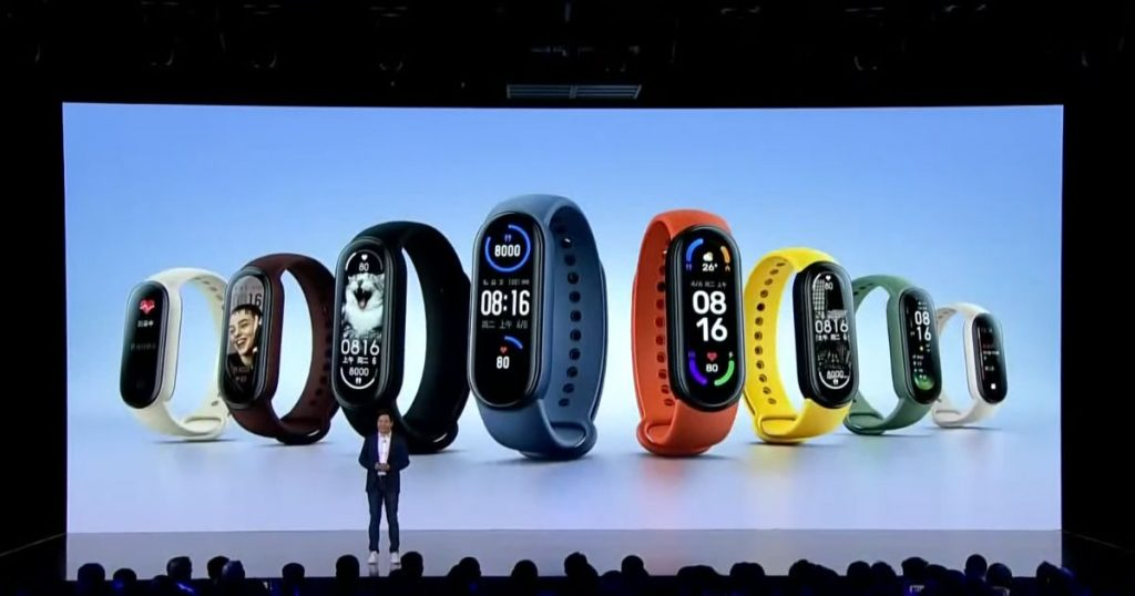 Xiaomi has launched Mi Band 6 in China.
