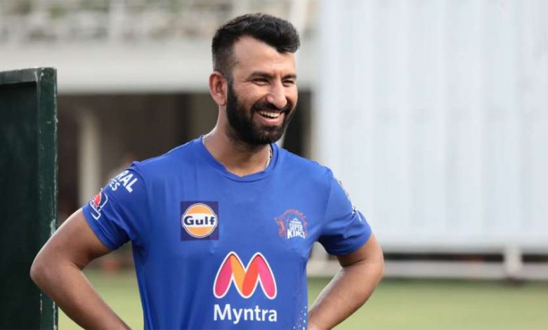 IPL 2021: Watch - Cheteshwar Pujara hits sixes at will as new Chennai Super Kings recruit begins training