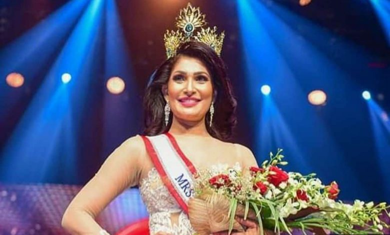 Who is Caroline Jurie, Mrs Sri Lanka World 2019 who snatched 2020 pageant winner's crown?