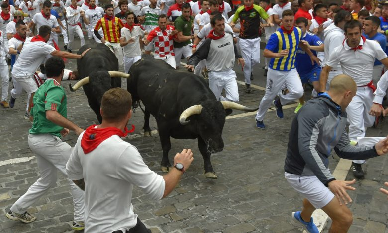Spain's famous Pamplona bull-run cancelled for second year due to pandemic