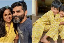 Sameera Reddy, kids Hans and Nyra, hubby Akshai test Covid positive, actress shares health update