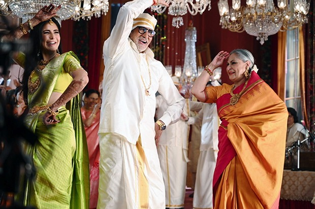 A Still From Jaya and Amitabh's TV Commercial