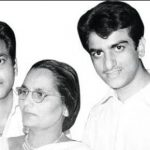 Jeetendra with Parents