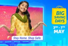 Flipkart Big Saving Days sale to go live on May 2 with deals on smartphones, TVs, laptops and more