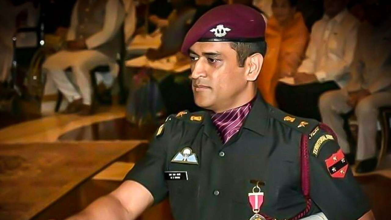 Mahendra Singh Dhoni as Lt. Colonel of Indian Territorial Army