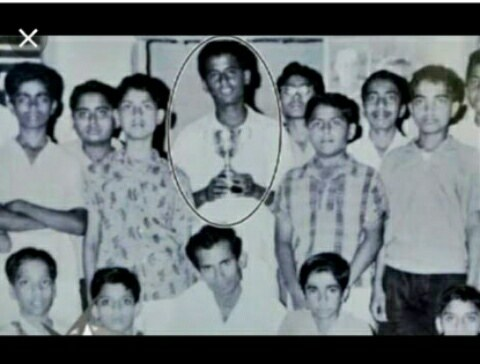 Rajinikanth in their younger days