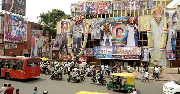 Rajinikanth is worshipped by his fans