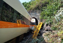 More than 40 people dead as Taiwan train derails in tunnel