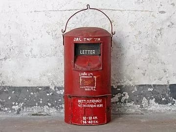 These letterboxes are still not forgotten.