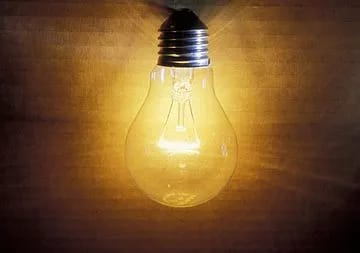These bulbs used to give more light bills but less light.