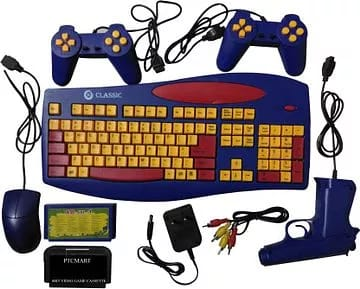It was our first smart gadget with a keyboard game.
