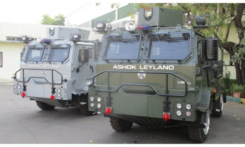 Indian Air Force gets Ashok Leyland bulletproof vehicles