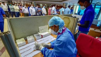 Positivity rate in Delhi exceeds 10% with nearly 8,000 new cases of Covid-19