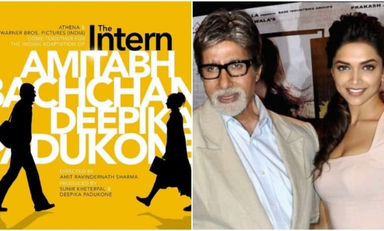 Deepika Padukone and Amitabh Bachchan reunite for The Intern remake