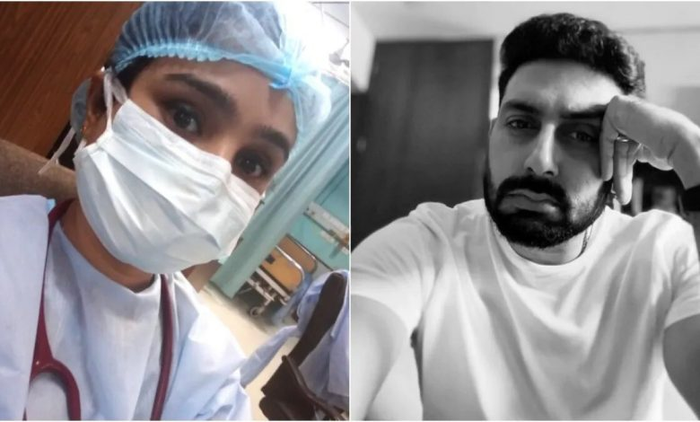 Delhi doctor says she feels dead from within in viral post. Heartbreaking, says Abhishek Bachchan