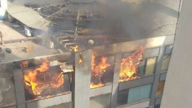 Ghaziabad: Massive fire at mall in Indirapuram, rescue work on