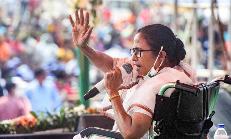 FIR against Mamata Banerjee in Cooch Behar for 'instigating' people to gherao central forces