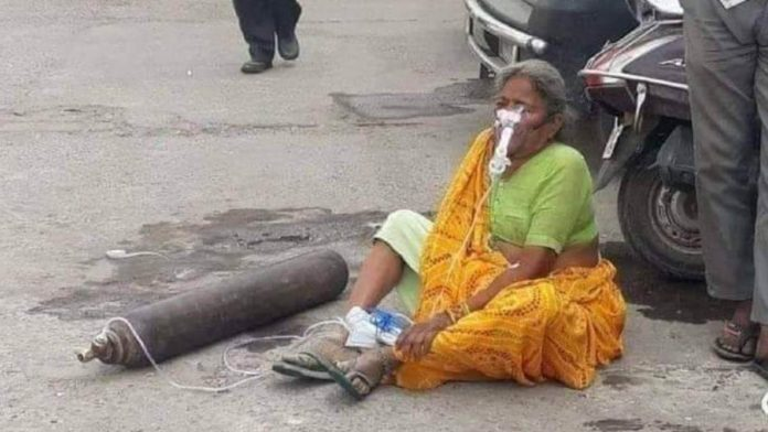 'Search more, even God can be found': Delhi struggles for oxygen, cylinder by cylinder