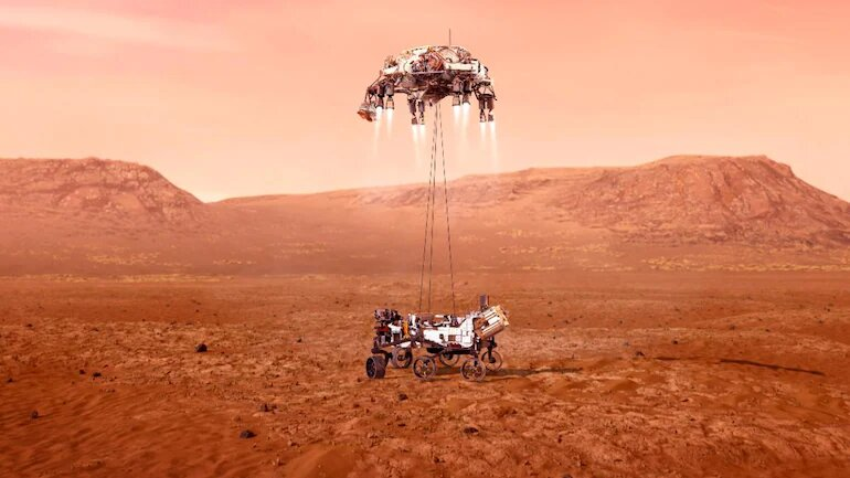 In a first, Perseverance Mars rover makes oxygen on another planet