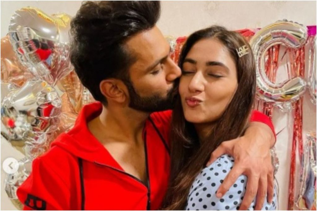 Rahul had proposed to Disha on her birthday on occasion of her birthday.