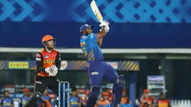 MI vs SRH: Kieron Pollard becomes 3rd overseas player to hit 200 sixes in the IPL