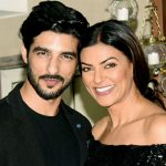 sushmita sen with Rohman Shawl
