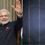 was criticized for wearing a suit worth ₹10 Lakh with a monogram of his name