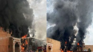 Fire breaks out on the sets of Jodhaa Akbar at ND Studios in Karjat