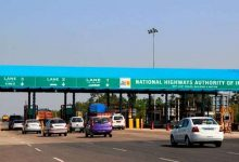 No toll tax to be paid if you are 100m away from toll booth and in queue