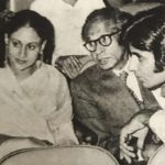 Amitabh Bachchan with parents