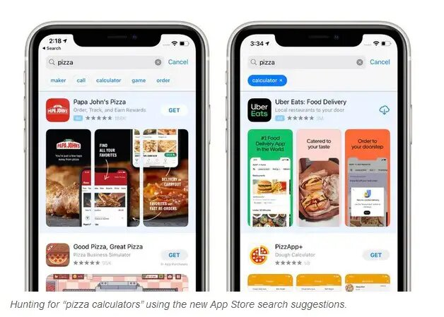 Apple rolls out autocomplete suggestions for AppStore
