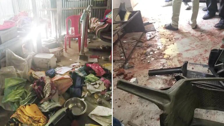 Several BJP, TMC workers dead, offices torched in post-poll violence in Bengal; Centre seeks report  10 points