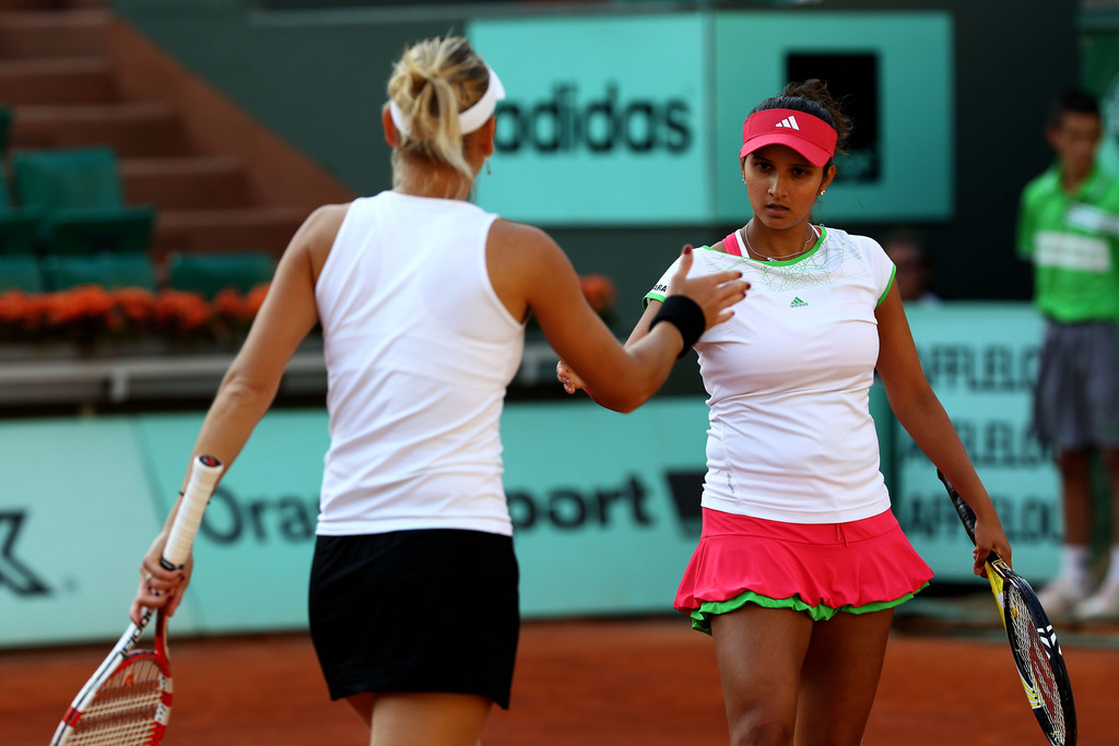 Sania Mirza At The 2011 French Open
