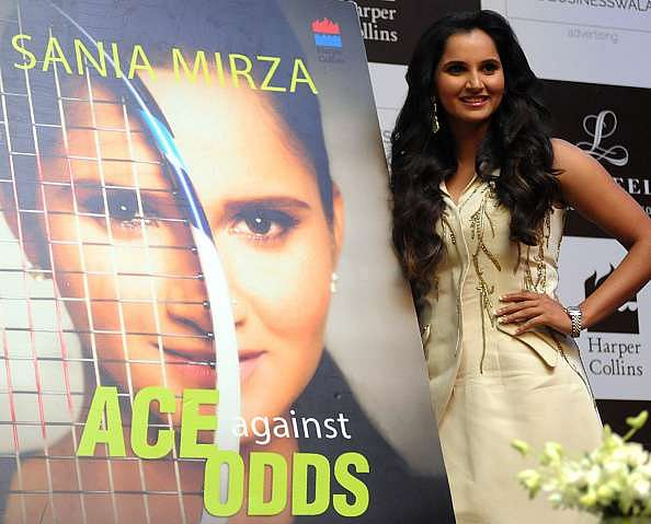 Sania Mirza At The Launch Of Her Autobiography Ace Against Odds