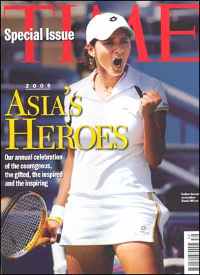 Sania Mirza On The Cover Of Time Magazine